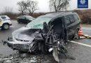 Нині поблизу села Залужжя у Мукачівському районі сталася страшна аварія з потерпілими