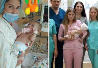 З народження не могла дихати і 68 днів була підключеною до апарату: медики врятували 4-місячну дівчинку з важкою патологією