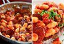 Квасоля з помідорами і чорізо. Від такої страви у всіх слина потече