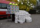 В Ужгород приїхали чехи з подарунками для рятувальників